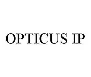 mark for OPTICUS IP, trademark #78592108