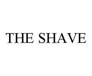 mark for THE SHAVE, trademark #78592199