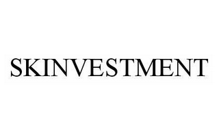 mark for SKINVESTMENT, trademark #78592391