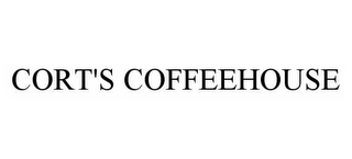 mark for CORT'S COFFEEHOUSE, trademark #78592402
