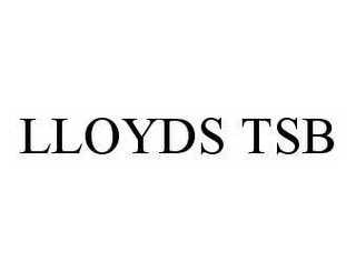 mark for LLOYDS TSB, trademark #78592556