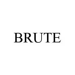 mark for BRUTE, trademark #78592661
