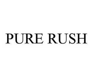 mark for PURE RUSH, trademark #78592925