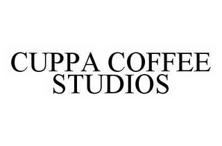 mark for CUPPA COFFEE STUDIOS, trademark #78593292
