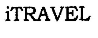 mark for ITRAVEL, trademark #78593632