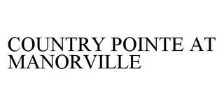 mark for COUNTRY POINTE AT MANORVILLE, trademark #78594155