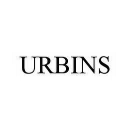 mark for URBINS, trademark #78594217