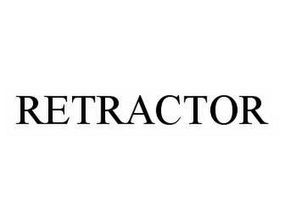 mark for RETRACTOR, trademark #78594368