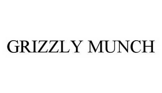 mark for GRIZZLY MUNCH, trademark #78594659