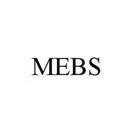 mark for MEBS, trademark #78594982
