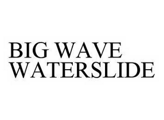 mark for BIG WAVE WATERSLIDE, trademark #78595902
