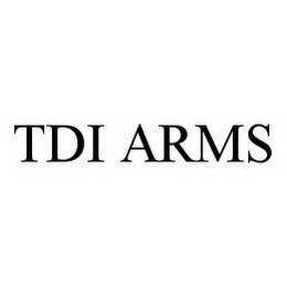 mark for TDI ARMS, trademark #78596136