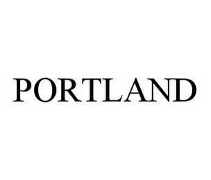 mark for PORTLAND, trademark #78596155
