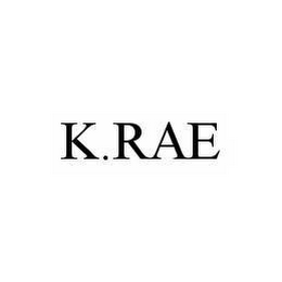 mark for K.RAE, trademark #78596203
