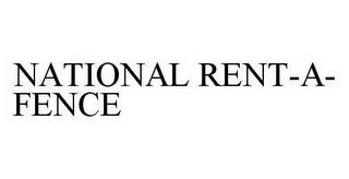 mark for NATIONAL RENT-A-FENCE, trademark #78596288