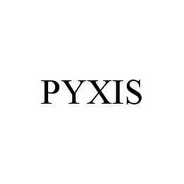 mark for PYXIS, trademark #78596337