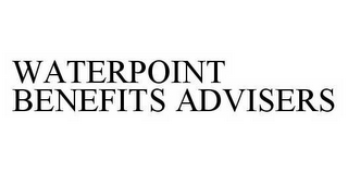 mark for WATERPOINT BENEFITS ADVISERS, trademark #78596530