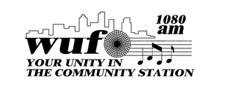 mark for WUFO 1080 AM YOUR UNITY IN THE COMMUNITY STATION, trademark #78597105