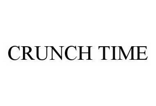 mark for CRUNCH TIME, trademark #78597432