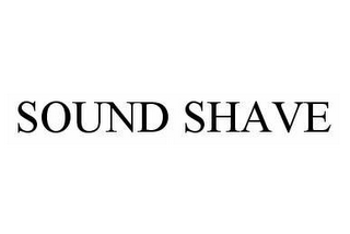 mark for SOUND SHAVE, trademark #78597589