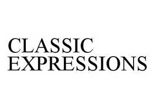 mark for CLASSIC EXPRESSIONS, trademark #78597862