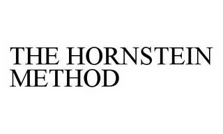 mark for THE HORNSTEIN METHOD, trademark #78598508