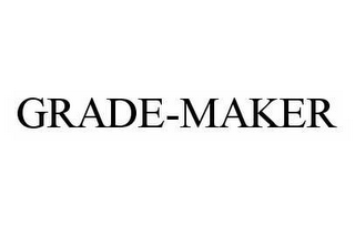 mark for GRADE-MAKER, trademark #78598642