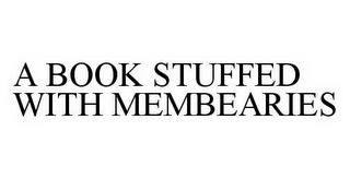 mark for A BOOK STUFFED WITH MEMBEARIES, trademark #78598879