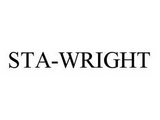 mark for STA-WRIGHT, trademark #78598933