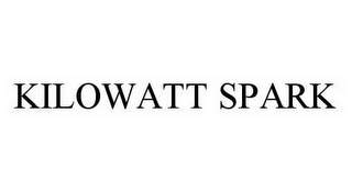 mark for KILOWATT SPARK, trademark #78599347