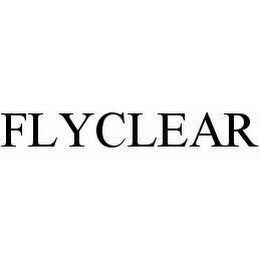 mark for FLYCLEAR, trademark #78599849