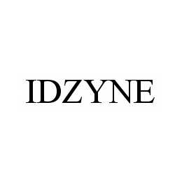 mark for IDZYNE, trademark #78600095