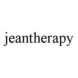 mark for JEANTHERAPY, trademark #78600177