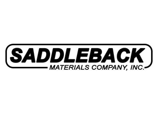 mark for SADDLEBACK MATERIALS COMPANY, INC., trademark #78600187