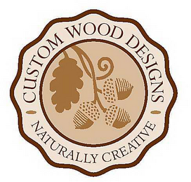 mark for CUSTOM WOOD DESIGNS NATURALLY CREATIVE, trademark #78600670