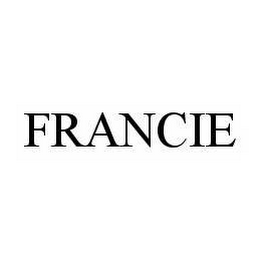 mark for FRANCIE, trademark #78600985
