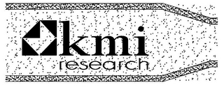 mark for KMI RESEARCH, trademark #78600986