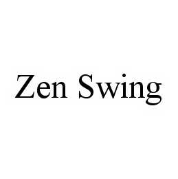 mark for ZEN SWING, trademark #78601047
