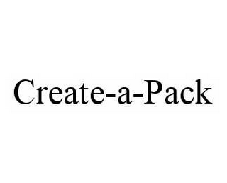mark for CREATE-A-PACK, trademark #78601160