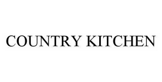 mark for COUNTRY KITCHEN, trademark #78601291