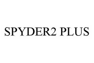 mark for SPYDER2 PLUS, trademark #78601343
