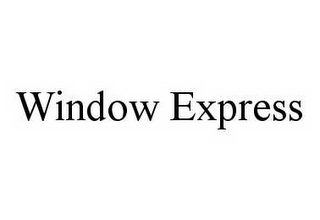 mark for WINDOW EXPRESS, trademark #78601428