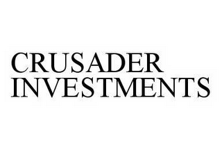 mark for CRUSADER INVESTMENTS, trademark #78601458