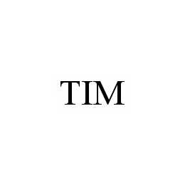 mark for TIM, trademark #78602900