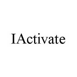 mark for IACTIVATE, trademark #78603035