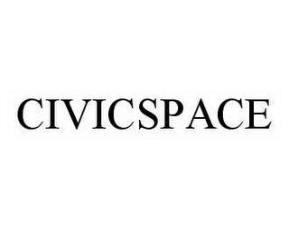 mark for CIVICSPACE, trademark #78603250