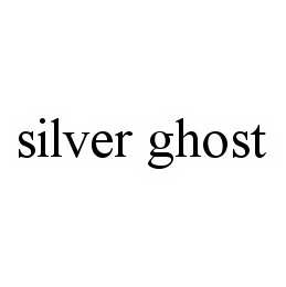 mark for SILVER GHOST, trademark #78603590
