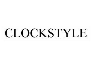 mark for CLOCKSTYLE, trademark #78603817