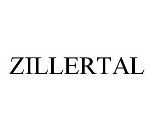 mark for ZILLERTAL, trademark #78603903