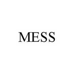 mark for MESS, trademark #78604053